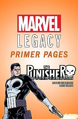 The Punisher - Marvel Legacy Primer Pages