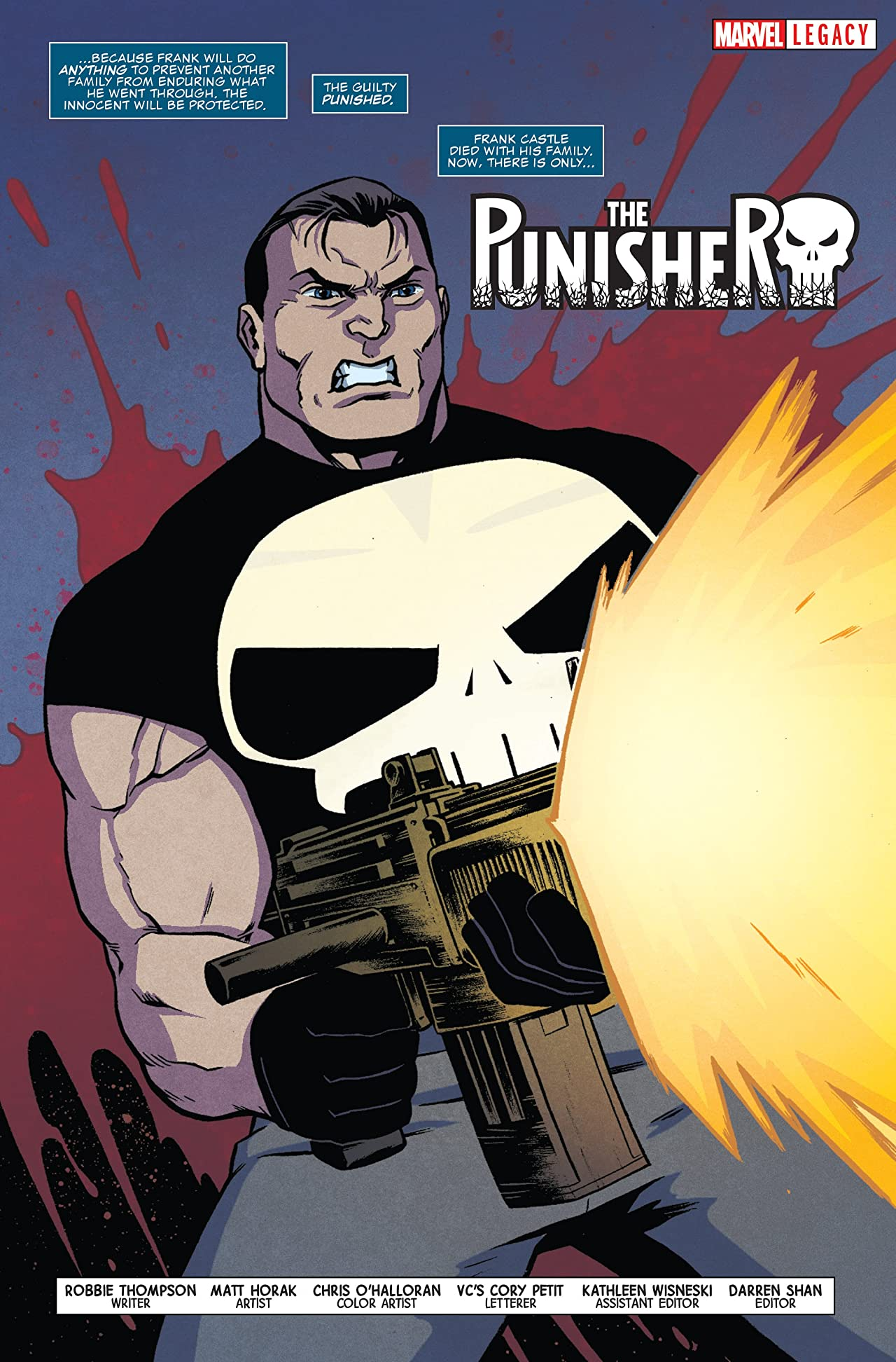 The Punisher - Marvel Legacy Primer Pages