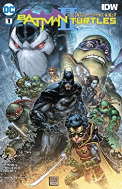 Batman/Teenage Mutant Ninja Turtles II (2017-) #1