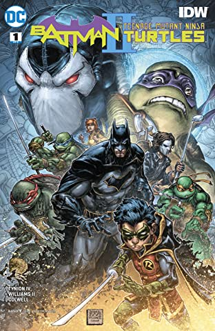 Batman/Teenage Mutant Ninja Turtles II (2017-2018) #1