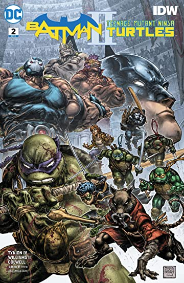 Batman/Teenage Mutant Ninja Turtles II (2017-) #2