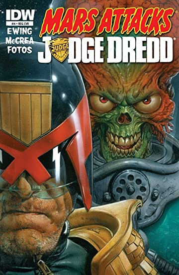 Mars Attacks Judge Dredd #4 (of 4)