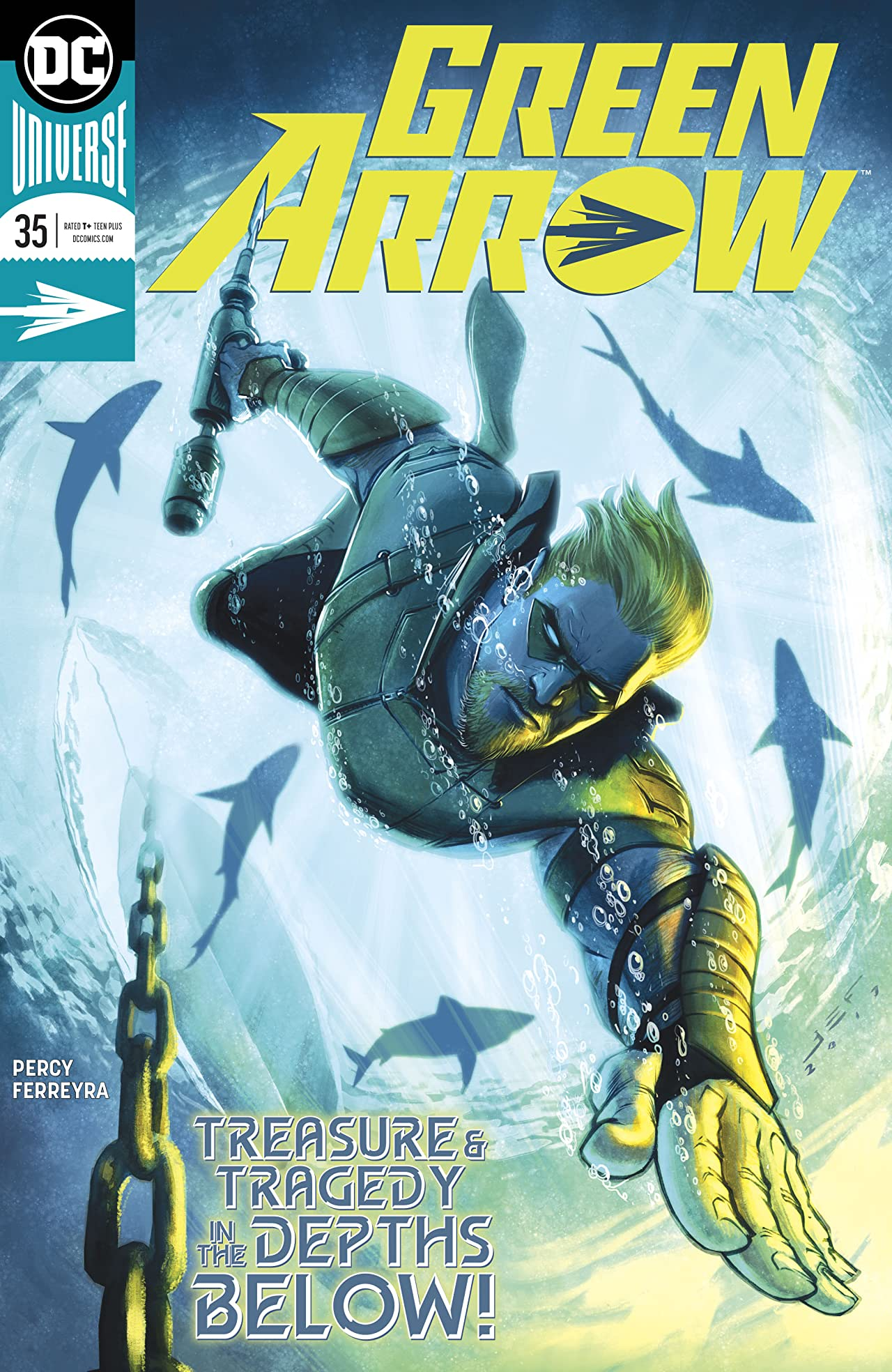 Green Arrow (2016-) #35