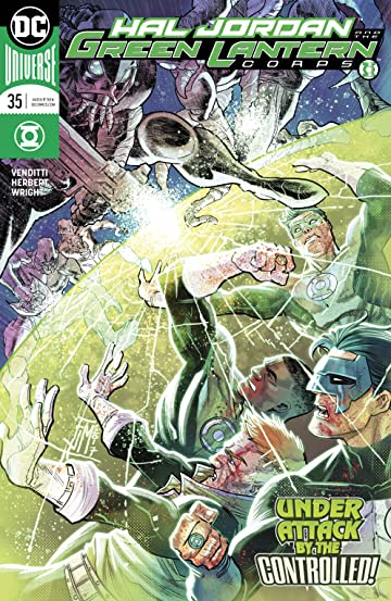 Hal Jordan and The Green Lantern Corps (2016-) #35
