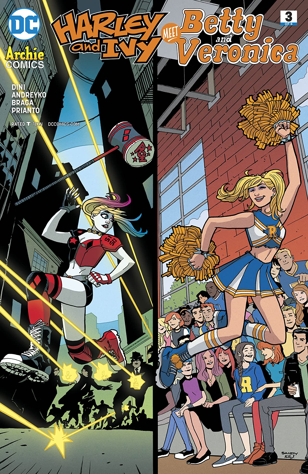 Harley & Ivy Meet Betty and Veronica (2017-) #3