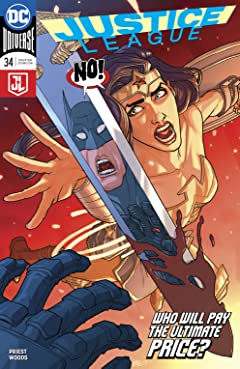 Justice League (2016-) #34