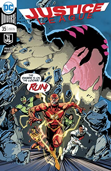 Justice League (2016-) No.35