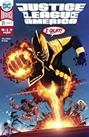 Justice League of America (2017-2018) #21