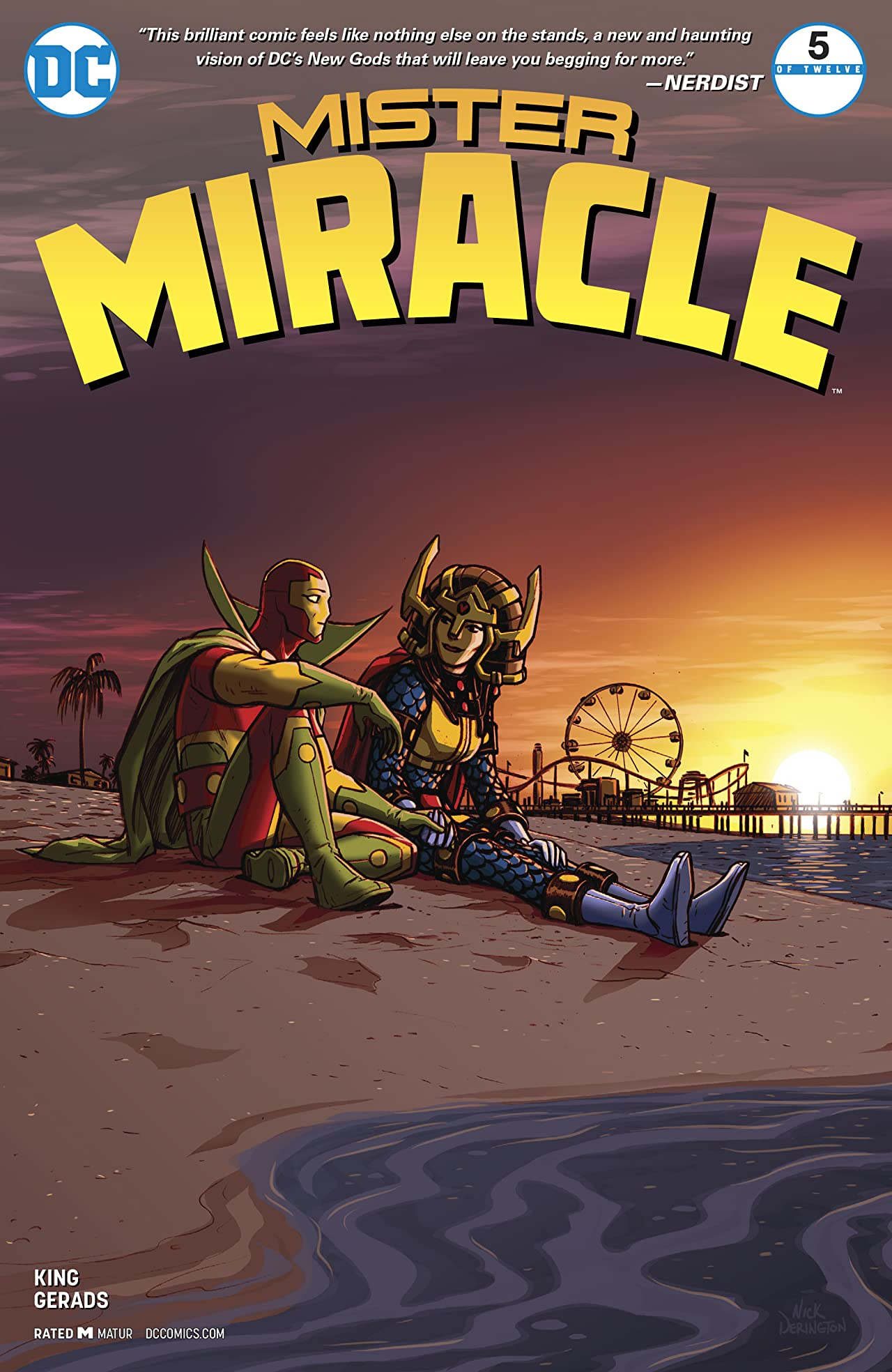Mister Miracle (2017-) #5