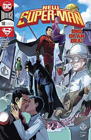 New Super-Man (2016-) #18