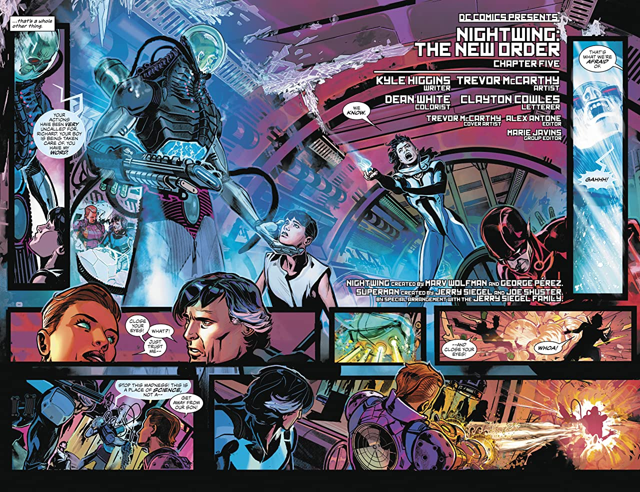 Nightwing: The New Order (2017-2018) #5
