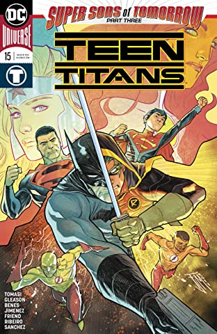 Teen Titans (2016-) No.15