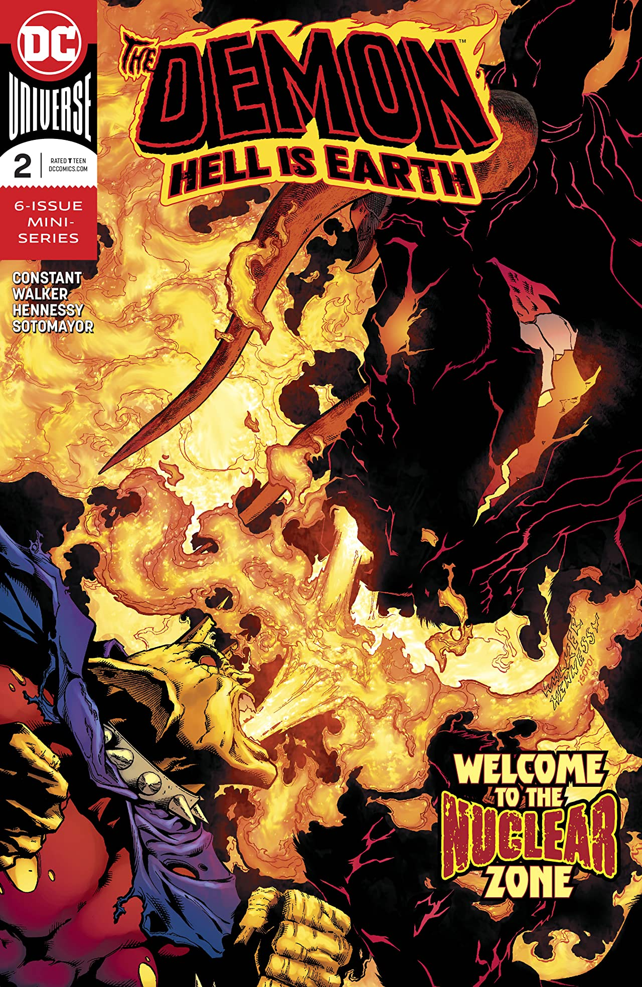 The Demon: Hell is Earth (2017-) #2
