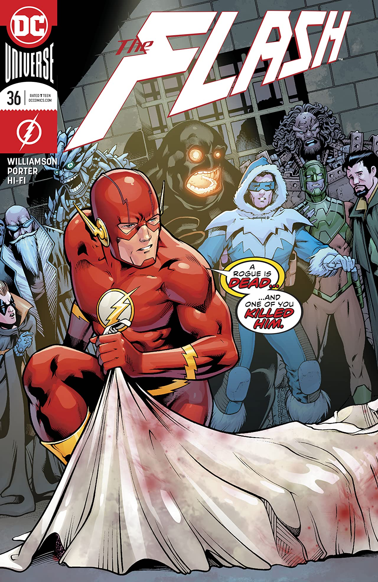The Flash (2016-) #36