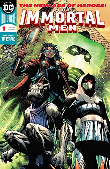 The Immortal Men (2017-) #1