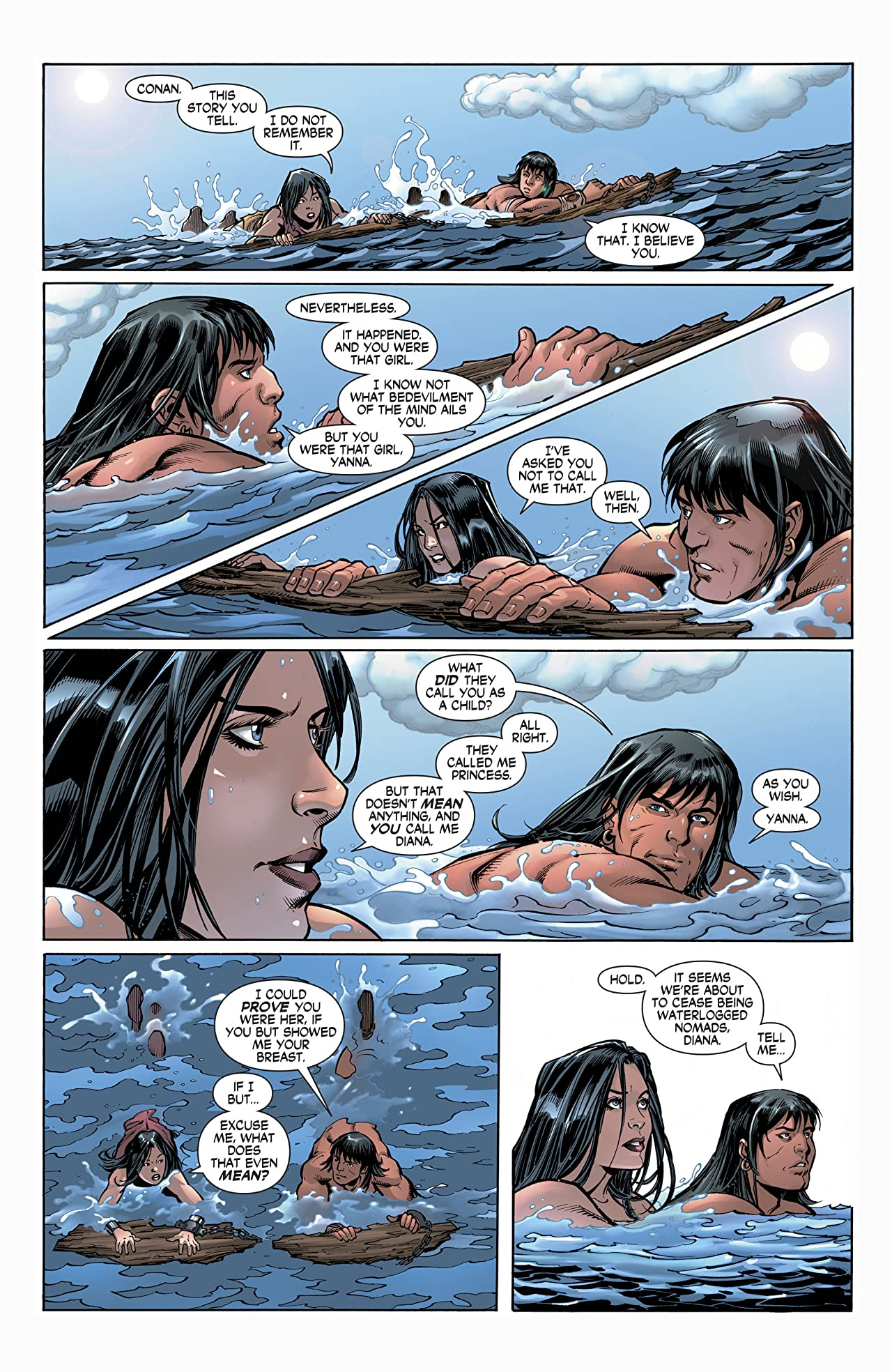 Wonder Woman/Conan (2017-) #4