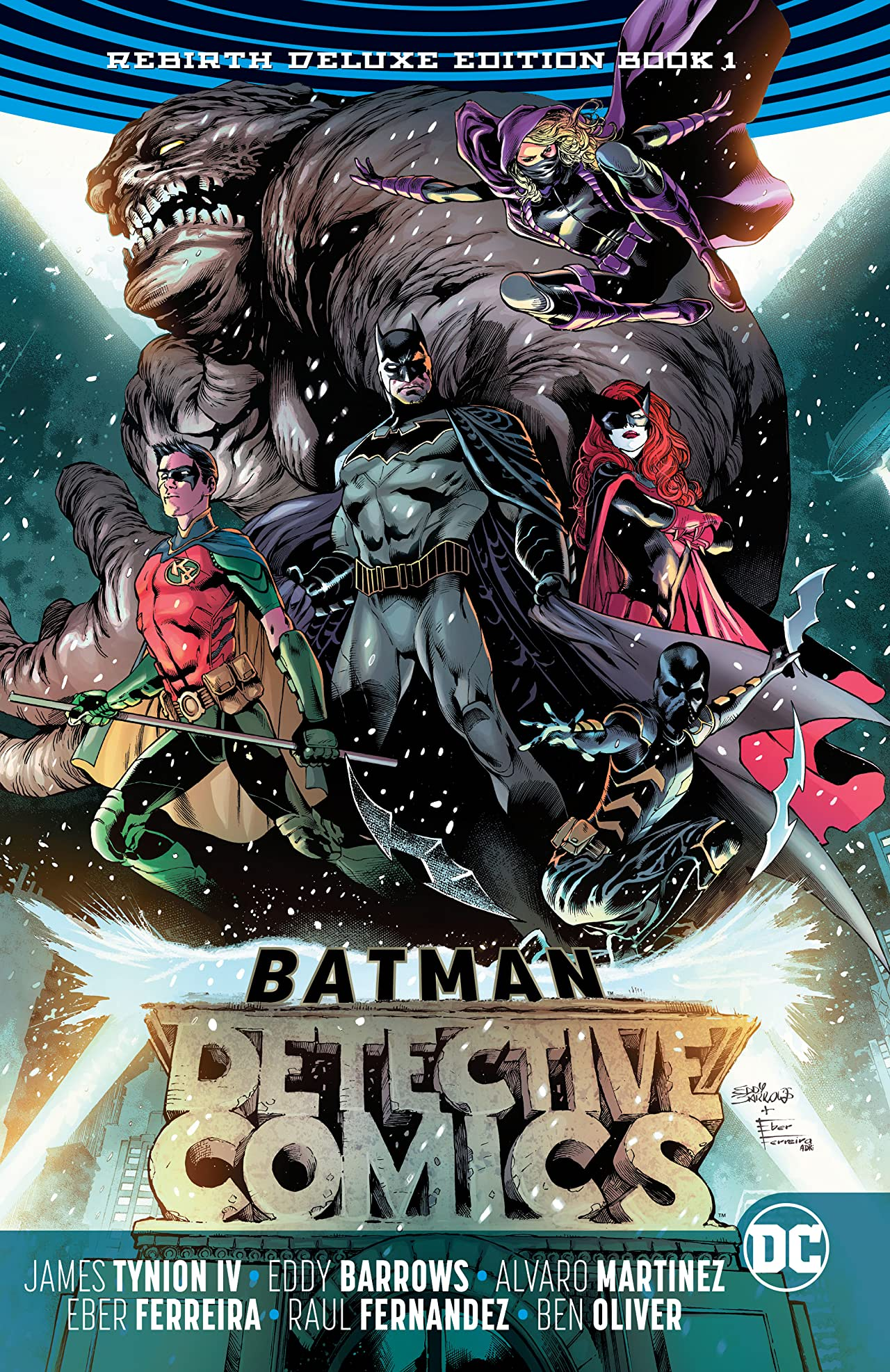 Batman - Detective Comics: The Rebirth Deluxe Edition - Book 1