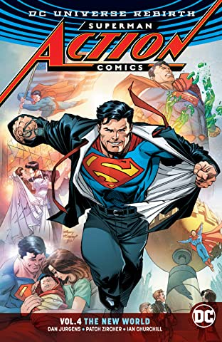 Superman - Action Comics (2016-) Tome 4: The New World