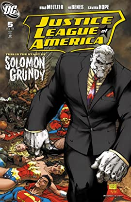 Justice League of America (2006-2011) No.5