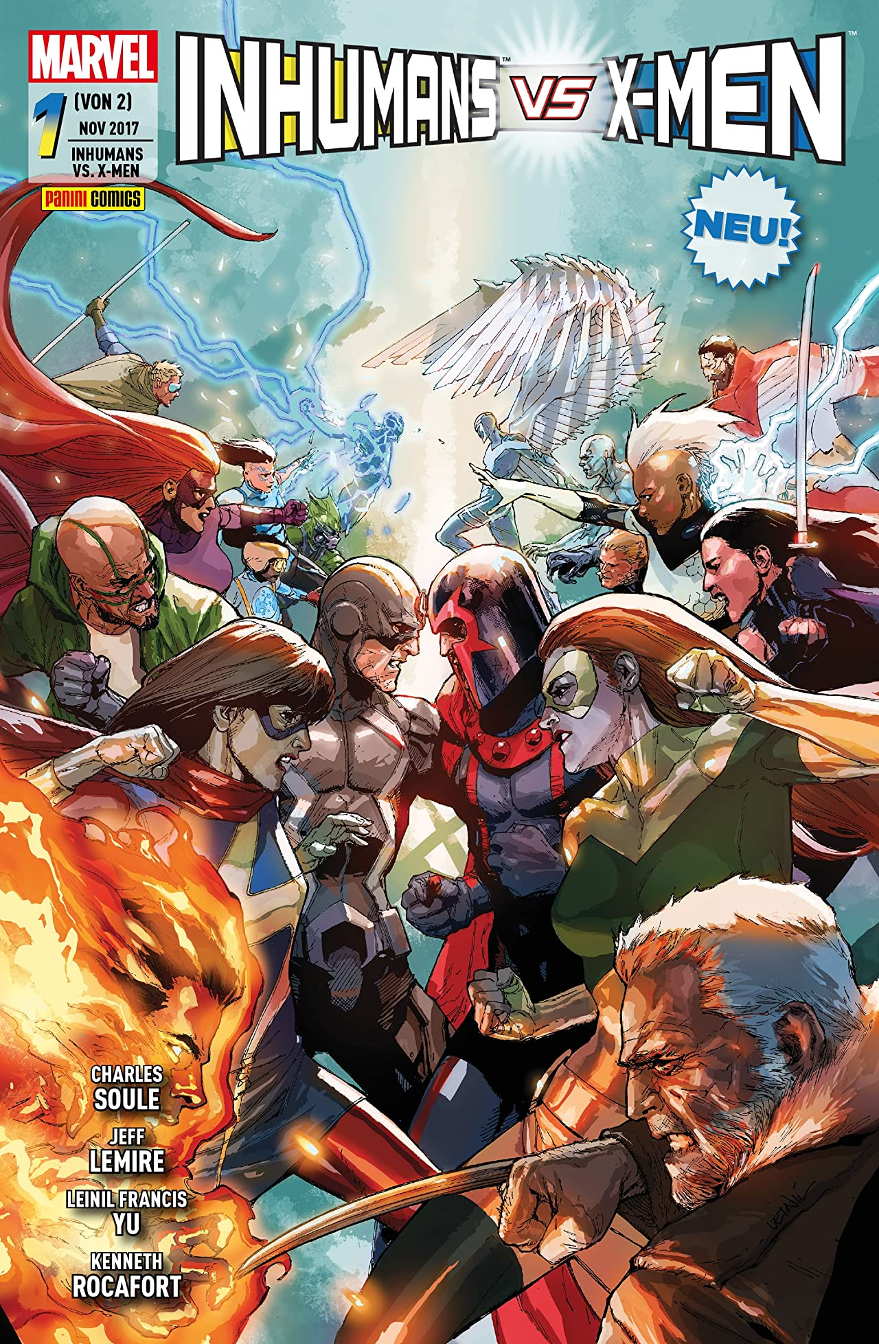 Inhumans vs. X-Men Vol. 1