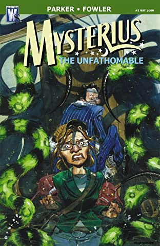 Mysterius: The Unfathomable #3 (of 6)
