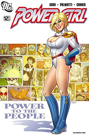 Power Girl (2009-2011) No.12