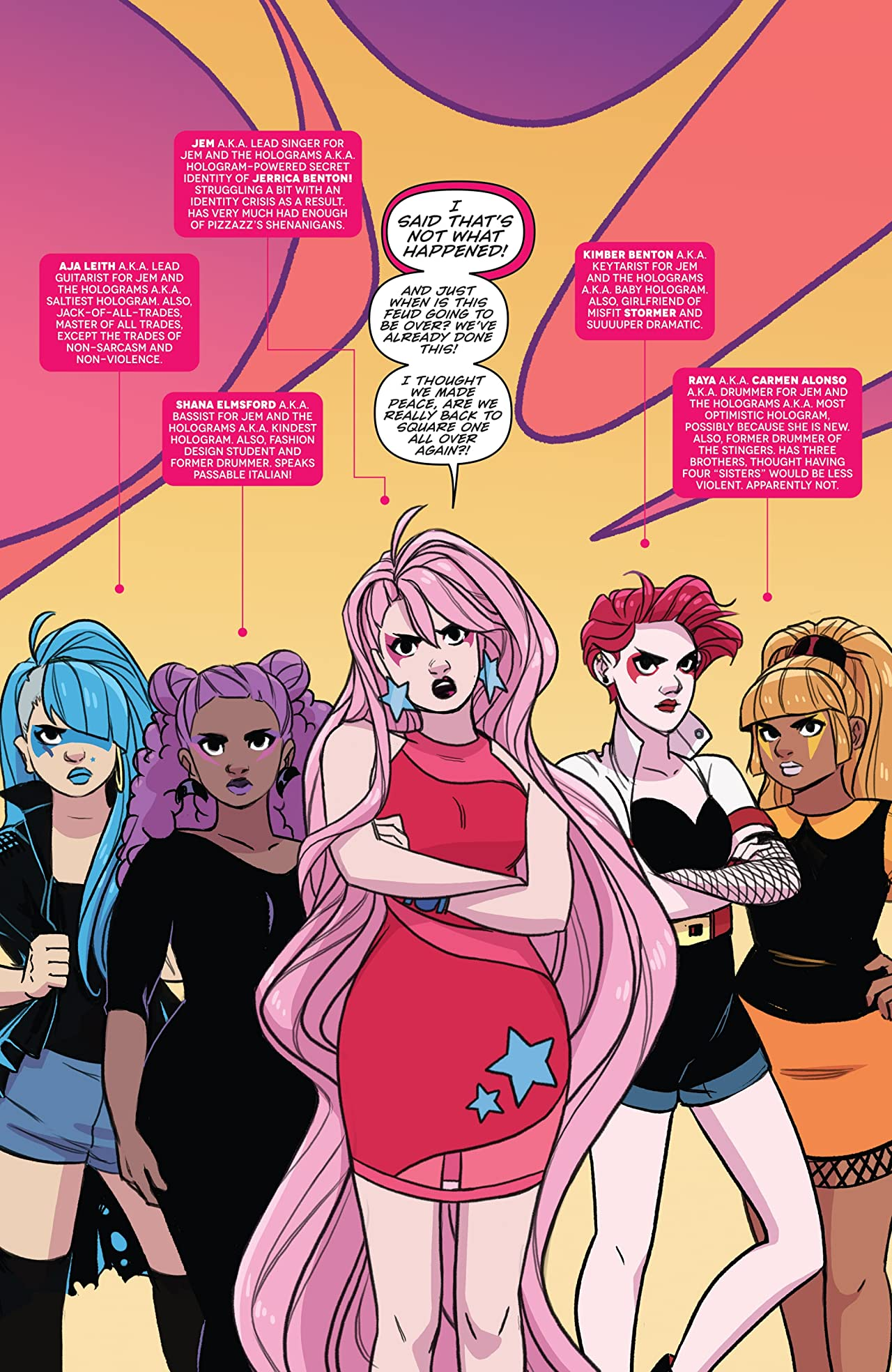 Jem and the Holograms: Infinite