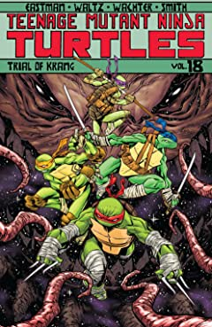 Teenage Mutant Ninja Turtles Tome 18: Trial of Krang