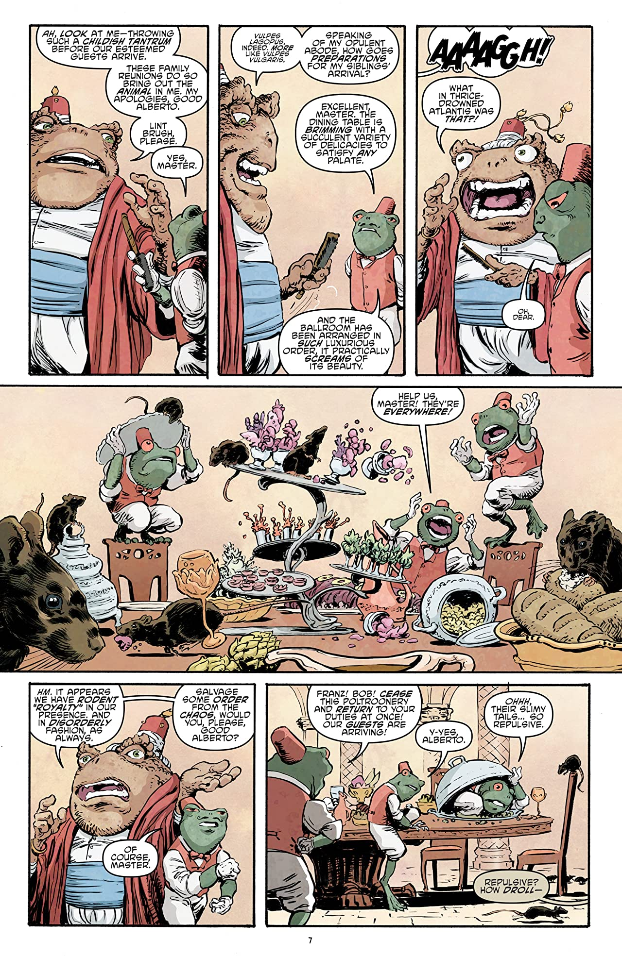 Teenage Mutant Ninja Turtles Vol. 18: Trial of Krang