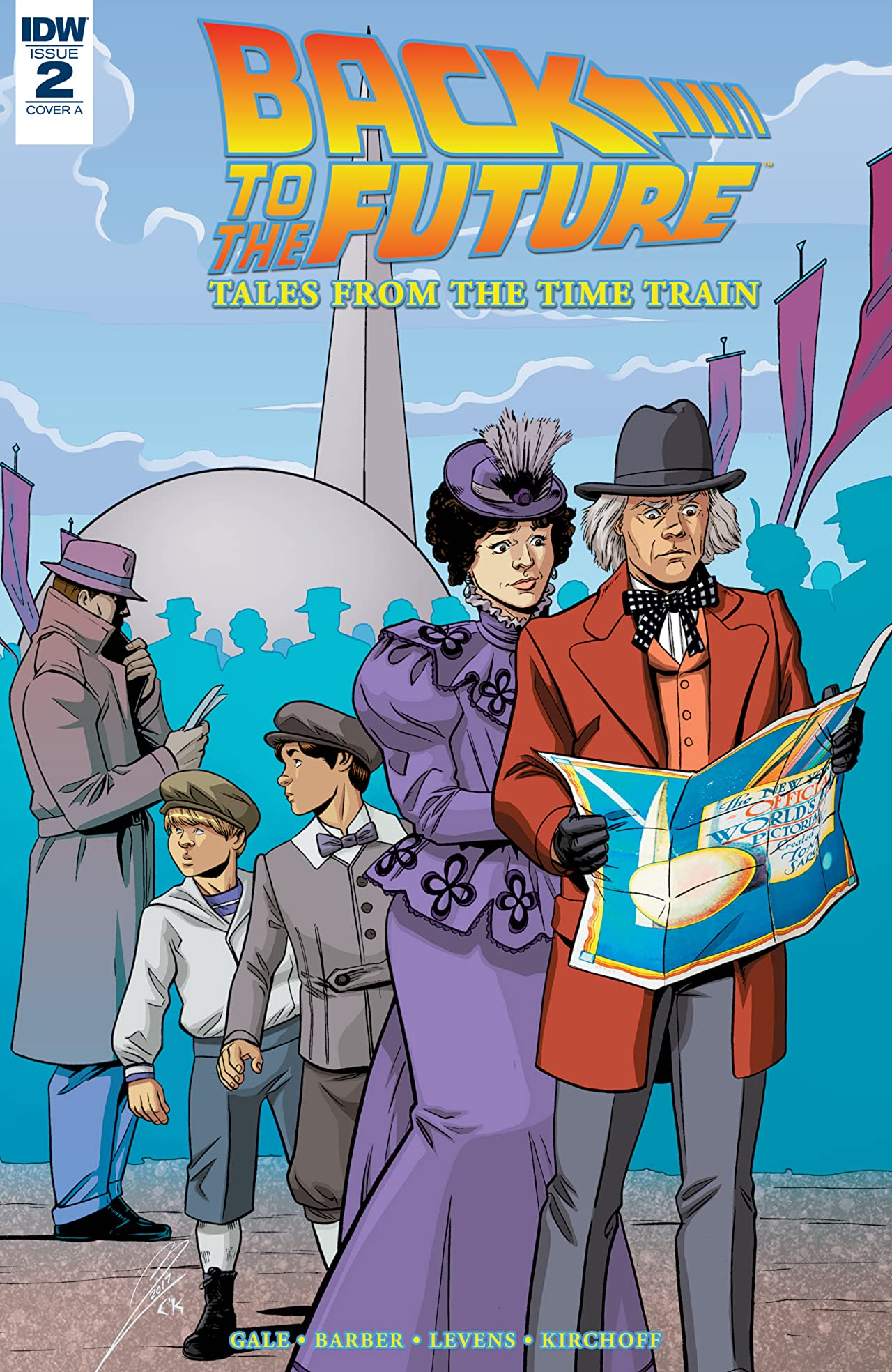 Back to the Future: Tales from the Time Train #2