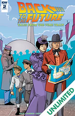 Back to the Future: Tales from the Time Train #2 (of 6)