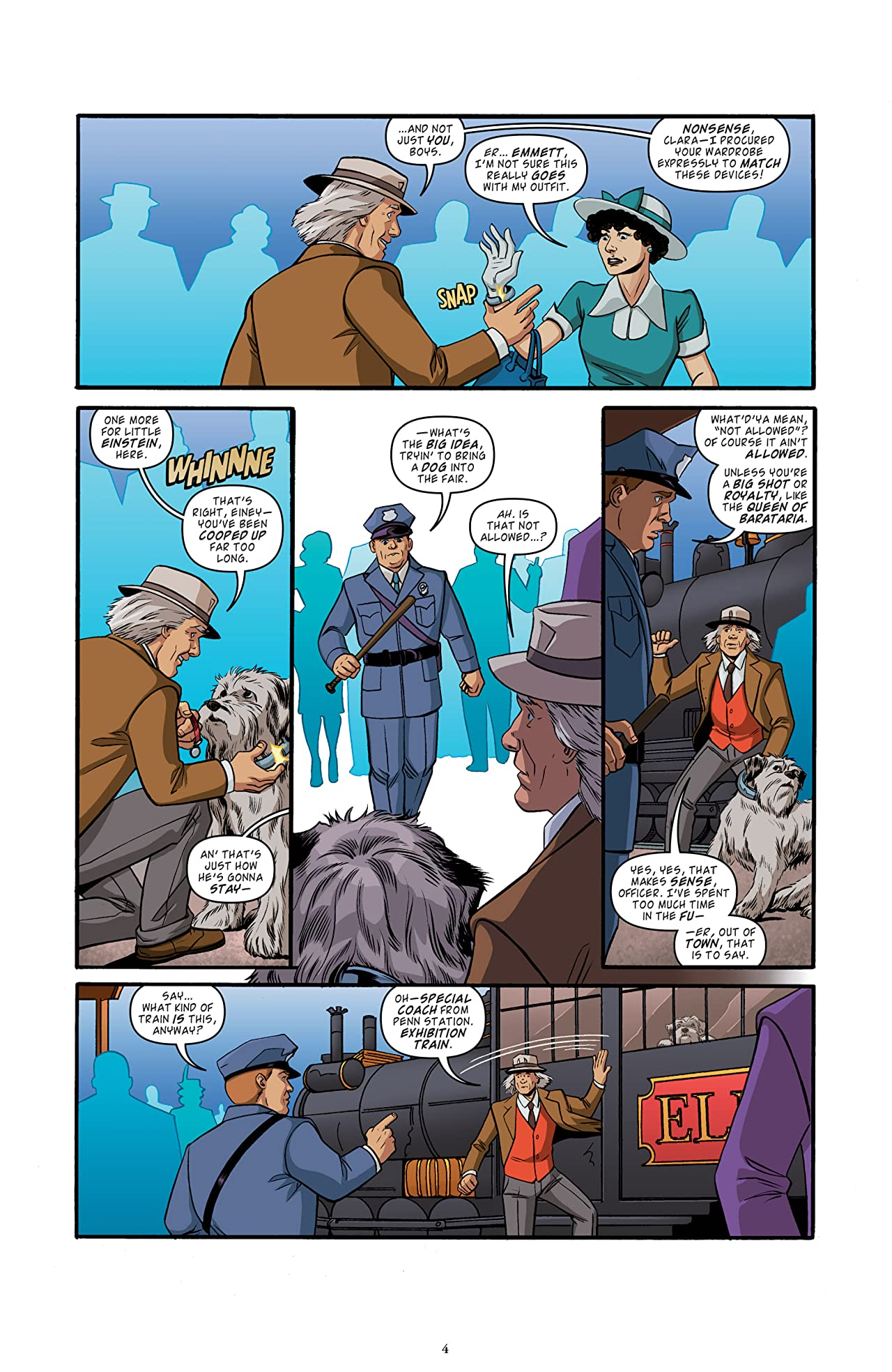 Back to the Future: Tales from the Time Train No.2 (sur 6)