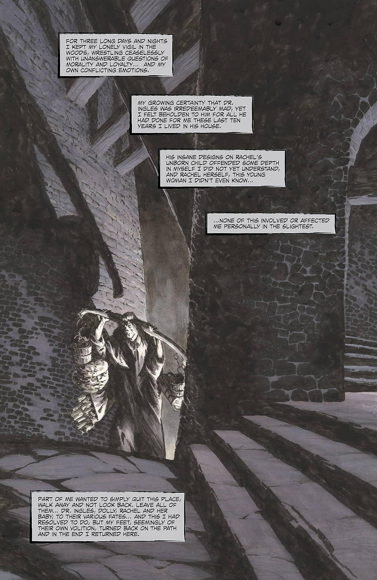 Frankenstein Alive, Alive #4
