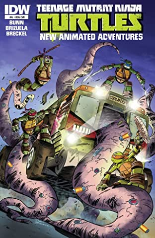 Teenage Mutant Ninja Turtles: New Animated Adventures #6