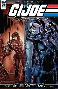 G.I. Joe: A Real American Hero #248