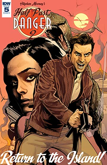 Half Past Danger II: Dead To Reichs #5 (of 5)