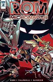 ROM & The Micronauts #2
