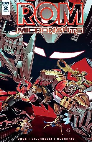 ROM & The Micronauts No.2
