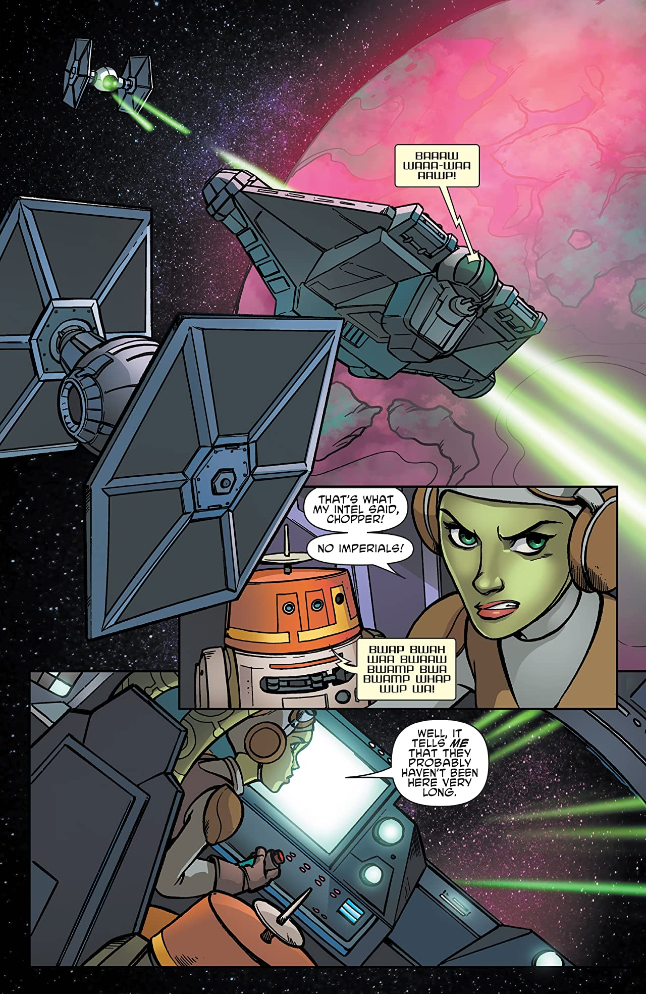 Star Wars Adventures: Forces of Destiny—Hera