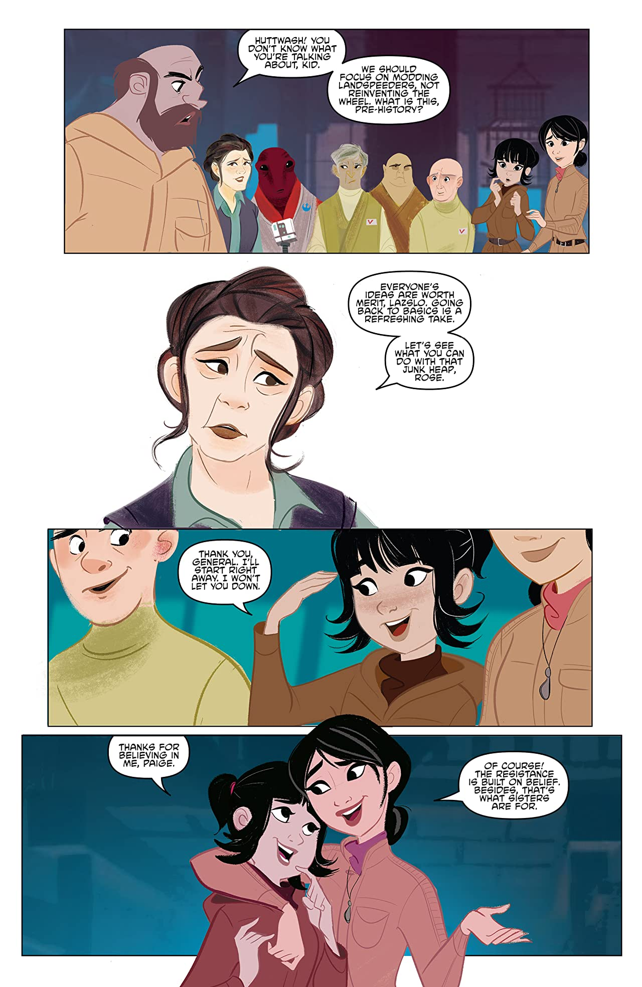 Star Wars Adventures: Forces of Destiny—Rose & Paige