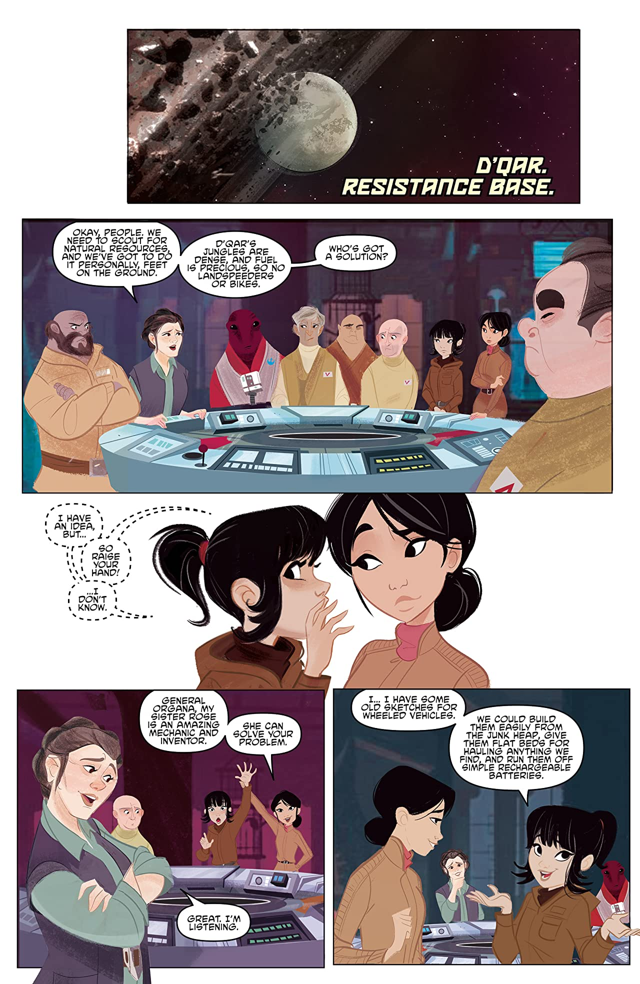 Star Wars Adventures: Forces of Destiny—Rose & Paige