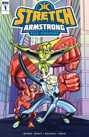 Stretch Armstrong and the Flex Fighters No.1