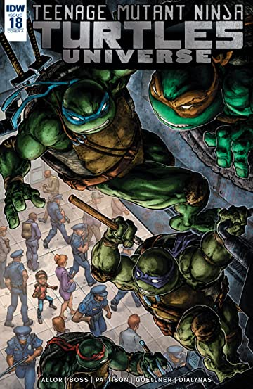 Teenage Mutant Ninja Turtles Universe No.18