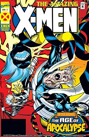 Amazing X-Men (1995) #2