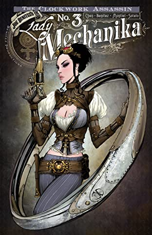 Lady Mechanika: The Clockwork Assassin No.3