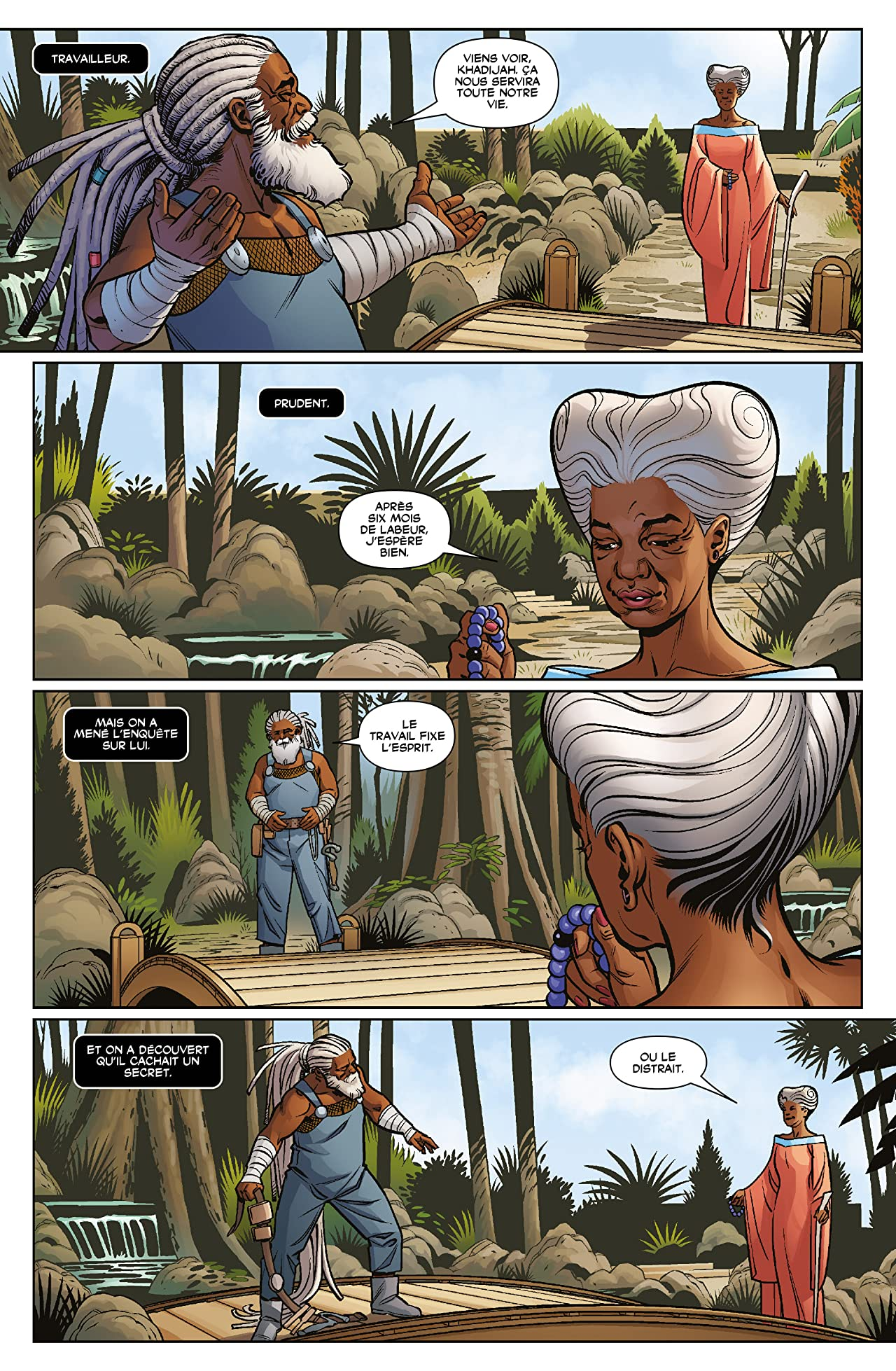 Black Panther Vol. 3: Une nation en marche (III)