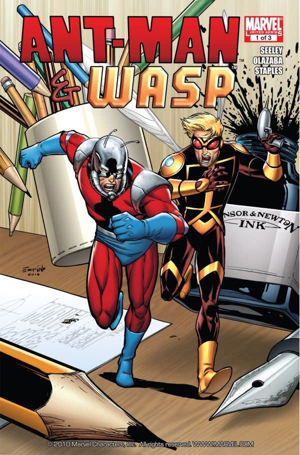 Ant-Man and Wasp #1 (of 3)