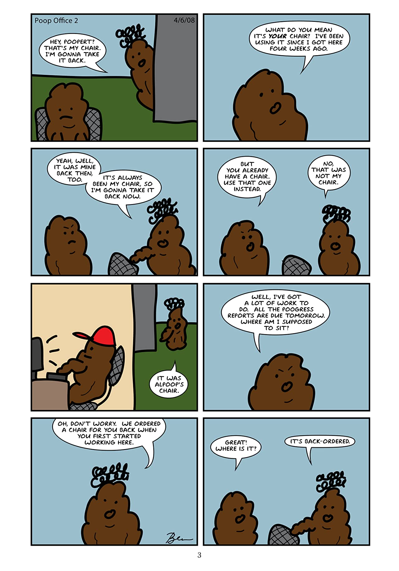 Poop Office Vol. 1: Tales from an Office Staffed by Poop
