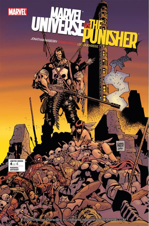 Marvel Universe vs. the Punisher #4 (of 4)