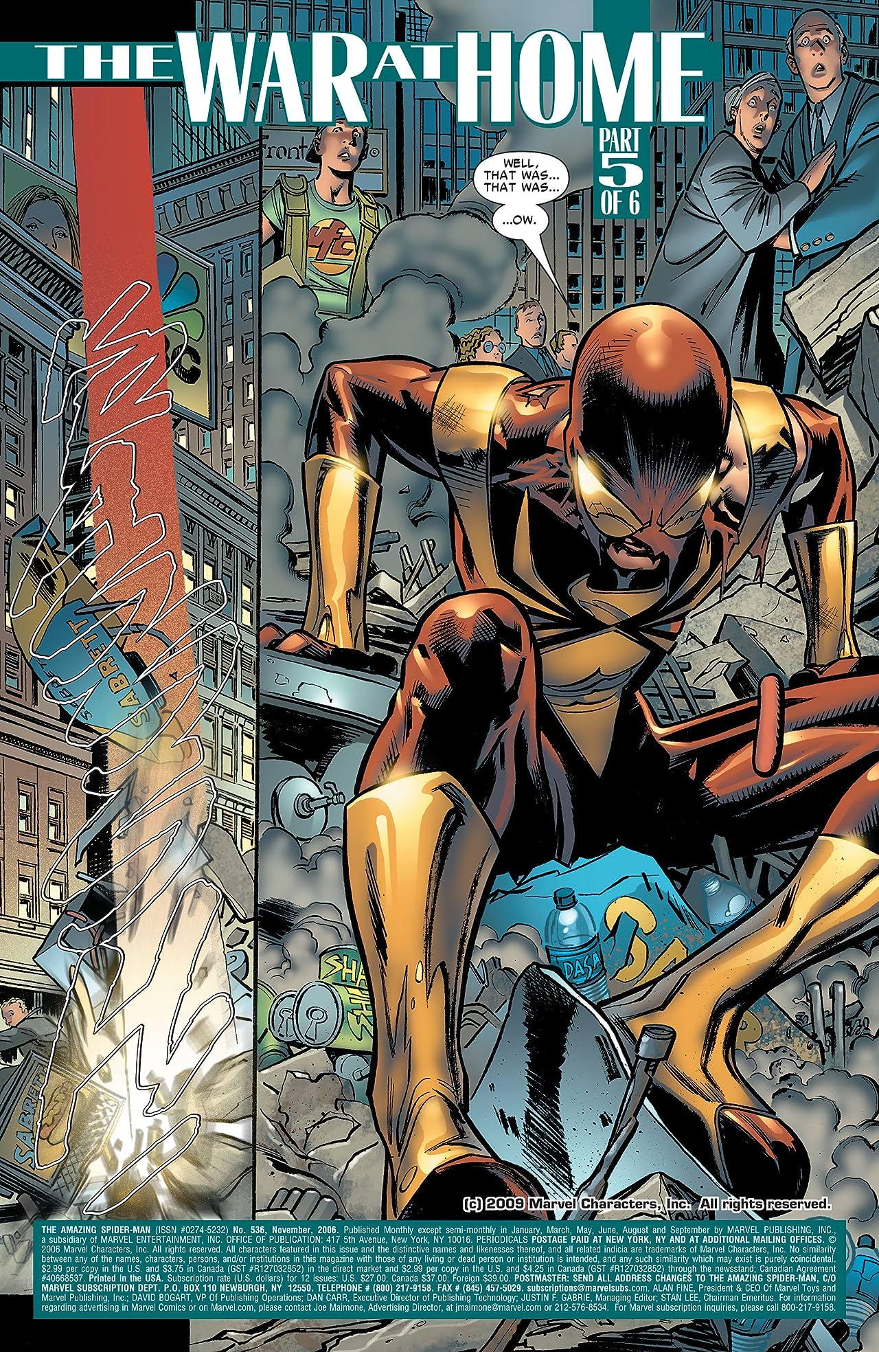 Amazing Spider-Man (1999-2013) #536